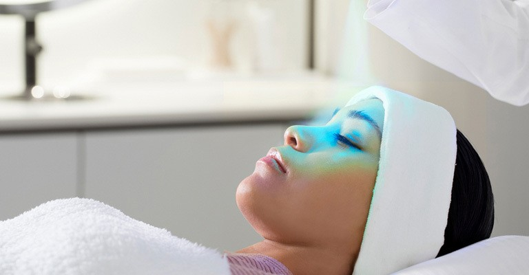 Cryo Face Therapy is an effective way to tighten and brighten the skin.