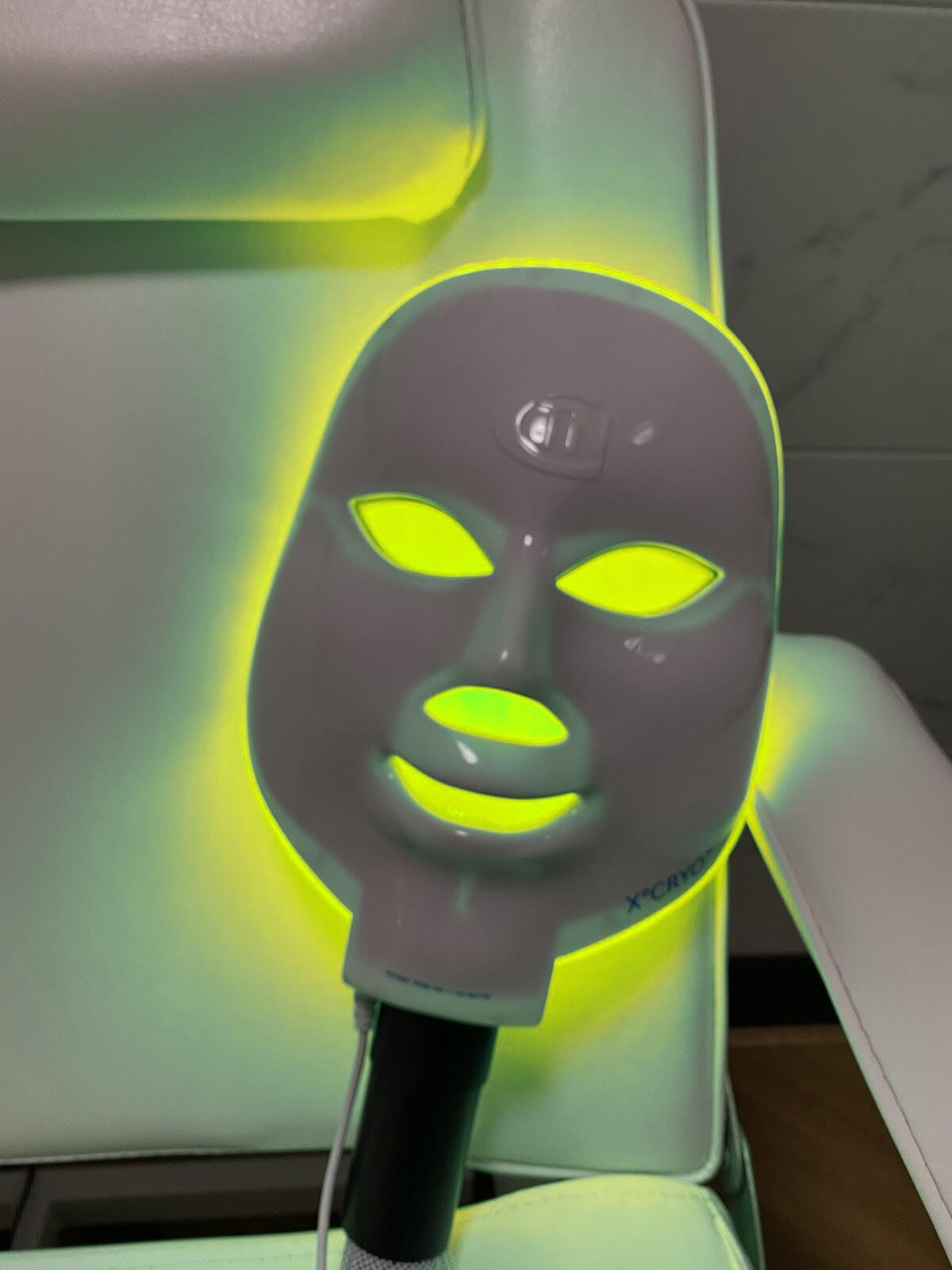 Yellow LED Light - IV Vitamin & Therapy Lounge